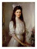 Miss Christian Elspeth Mallock Giclee Print by Edward Arthur Walton