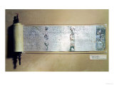 Megillah (Scroll of Esther) Impresso gicle