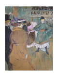 Quadrille at the Moulin Rouge, 1892 Giclee Print by Henri de Toulouse-Lautrec