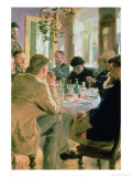 Lunchtime, 1883 Giclee Print by Peder Severin Kr&#246;yer
