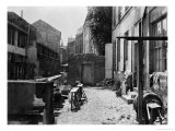 Banks of the Bievre, Paris, 1858-78 Giclee Print by Charles Marville