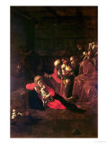 Adoration of the Shepherds Giclee Print by  Caravaggio