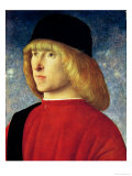 Portrait of a Young Senator, 1485-90 Giclee Print by Giovanni Bellini