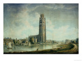 Boston Stump: View from the South-West Giclee Print by John Buckler