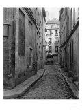 Cul-De-Sac Saint-Ambroise, from Rue Du Haut-Pave, Paris, 1858-78 Giclee Print by Charles Marville