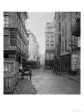 Rue Des Bourdonnais (From Rue De La Poterie) Paris 1858-78 Giclee Print by Charles Marville