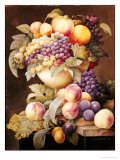 Fruits Giclee Print by Pierre-Joseph Redouté