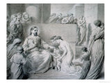 Christ Blessing Little Children Giclee Print by Warwick Brookes