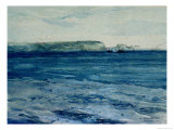 The Blue Waters of Plymouth Giclee Print by William Collins