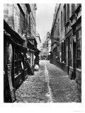 Passage De La Petite Boucherie (From Rue Gozlin) Premium Giclee Print by Charles Marville