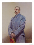 Portrait of Marshal Ferdinand Foch (1851-1929) 1920 Giclee Print by Jean Patricot