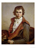 Self Portrait, 1794 Giclee Print by Jacques-Louis David