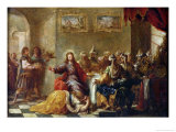 Christ in the House of Simon the Pharisee, 1660 Giclée-Druck von Juan de Valdes Leal