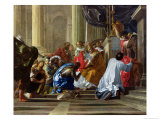 Raymond IV De Saint-Gilles (circa 1043-1105) Taking the Cross, 1706 Premium Giclee Print by Antoine Rivalz