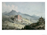 Poo Ta La, or Great Temple of Fo, Near Zehol,Tibet, China Giclee Print by William Alexander