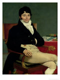Philibert Riviere (1766-1816) 1805 Giclee Print by Jean-Auguste-Dominique Ingres