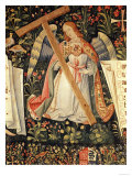 An Angel Carrying the Cross, from a Tapestry of Angels with the Instruments of the Passion Giclee Print