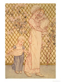 Mother and Child Giclee Print by Kate Greenaway