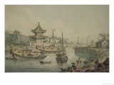 Barges of Lord Macartney's Embassy to China Giclee Print by William Alexander