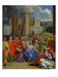 The Prophet Agabus Predicting St. Paul's Suffering in Jerusalem Giclee Print by Louis Cheron