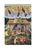Mystic Nativity Giclee Print by Sandro Botticelli