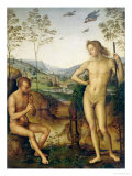 Apollo and Marsyas Giclee Print by Pietro Perugino