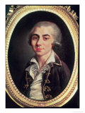 Portrait of Andre Chenier (1762-94) Giclee Print by Francois Thomise
