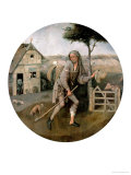 The Vagabond, The Prodigal Son Giclée-tryk af Hieronymus Bosch