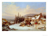 Quebec Giclee Print by Cornelius Krieghoff