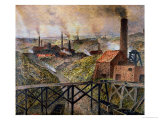 In the Black Country, 1890 Premium Giclee Print by Constantin Meunier