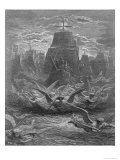 "St. Louis (1214-70) Leaving Aigues-Mortes, Illustration from ""Histoire Des Croisades"" Giclee Print by Gustave Doré"