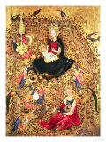 Madonna with a Rose Bush Giclee Print by  Sassetta
