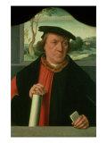 Counsellor Arnold Von Brauweiler, 1535 Giclee Print by Bartholomaeus Bruyn