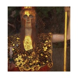 Minerva or Pallas Athena Wydruk giclee autor Gustav Klimt