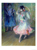Two Spanish Dancers Giclee Print by Juan Roig y Soler