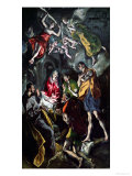 The Adoration of the Shepherds, from the Santo Domingo El Antiguo Altarpiece, circa 1603-14 Giclee Print by  El Greco