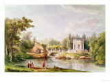 The Belvedere, Petit Trianon Giclee Print