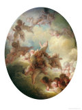 The Swarm of Cupids, circa 1767 Reproduction proc&#233;d&#233; gicl&#233;e par Jean-Honor&#233; Fragonard