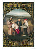 The Cure of Folly Giclée-Druck von Hieronymus Bosch