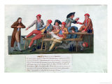 Prison Tribunal of 2 & 3 September, 1792 Giclee Print by Le Sueur Brothers