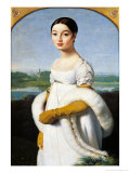 Portrait of Mademoiselle Caroline Riviere (1793-1803) 1805 Giclee Print by Jean-Auguste-Dominique Ingres