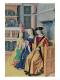 The Four Conditions of Society: Nobility Giclee Print by Jean Bourdichon
