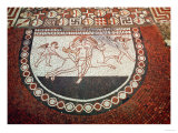 Roman Mosaic of Europa and the Bull, Lullingstone, Kent, 1st Century AD Giclee Print