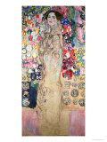 Portrait of Maria Munk (Unfinished 1917-18) Giclée-Druck von Gustav Klimt