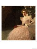 Sonja Knips, 1898 Lámina giclée por Gustav Klimt