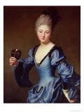 La Comtesse De Bersac Giclee Print by Jean-Baptiste Santerre