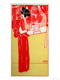 Gustav Klimt - Musik Digitálně vytištěná reprodukce