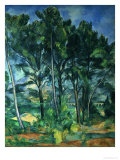 The Aqueduct (Montagne Sainte-Victoire Seen Through Trees), circa 1885-87 Giclee Print by Paul Cézanne