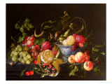 A Still Life of Fruit Giclee Print by Cornelis de Heem