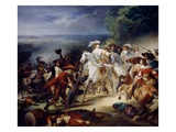 Battle of Rocroy, 19th May 1643, 1834 Giclee Print by Francois Joseph Heim
